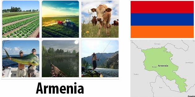 Agriculture and fishing of Armenia