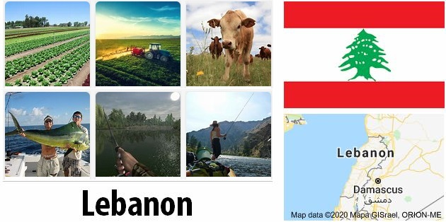 Agriculture and fishing of Lebanon