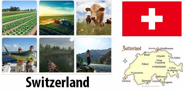 Agriculture and fishing of Switzerland