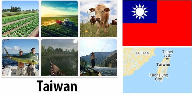 Agriculture and fishing of Taiwan